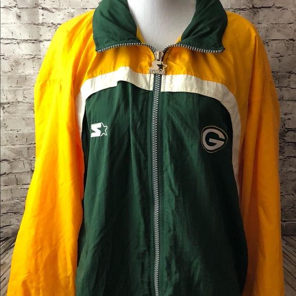 7de409fa Vintage Pro-Line Starter NFL Packers Windbreaker